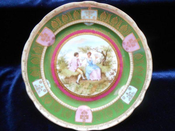 Декоративные парные тарелки Кузнецов