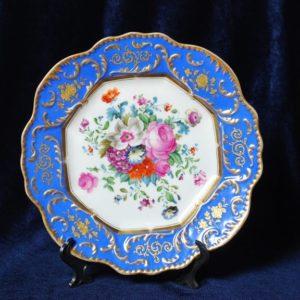 Изумительная роскошная пара тарелок