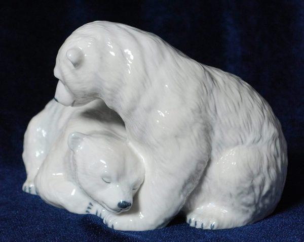 фарфор медведи Royal Copenhaven,Коллекционный фарфор