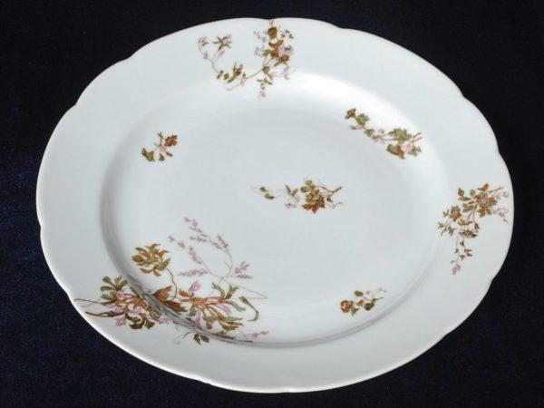 Большая тарелка Ирисы Корнилова фарфор