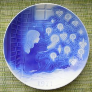 Декоративная тарелка Дания