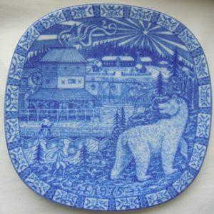 Шведские сказки 1975 тарелка