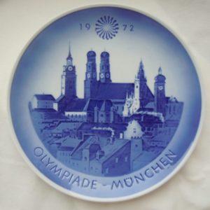 Коллекционная тарелка Олимпиада Мюнхен 1972