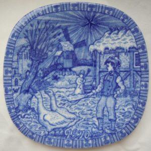 Рёрстранд Настенная тарелка 1970 год