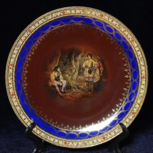 Karlsbad Чехословакия тарелка
