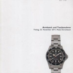 Аукционный каталог Часы 2011 ноябрь