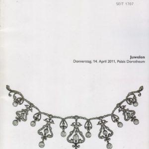 Аукционный каталог Ювелирное искусство 2011 апрель