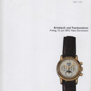 Аукционный каталог Часы 2015 июнь