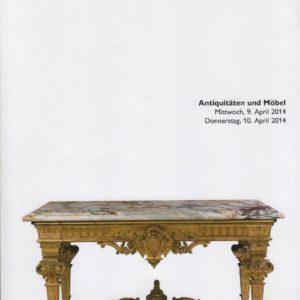 Аукционный каталог антиквариата 2014 апрель