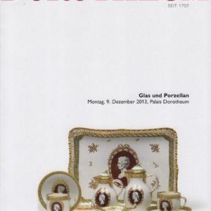 Аукционный каталог стекло и фарфор 2013 декабрь