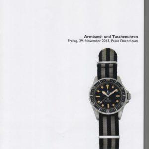 Аукционный каталог Часы Ноябрь 2013
