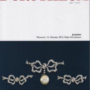 Аукционный каталог Ювелирное искусство 2013 октябрь