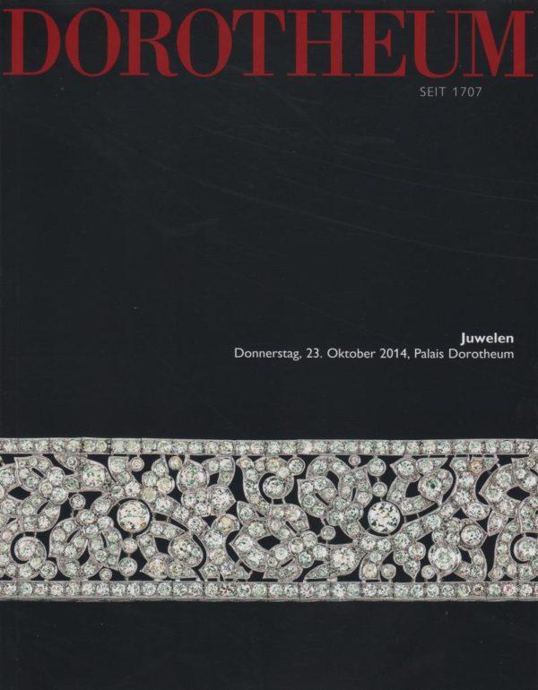 Аукционный каталог Ювелирное искусство 2014 октябрь