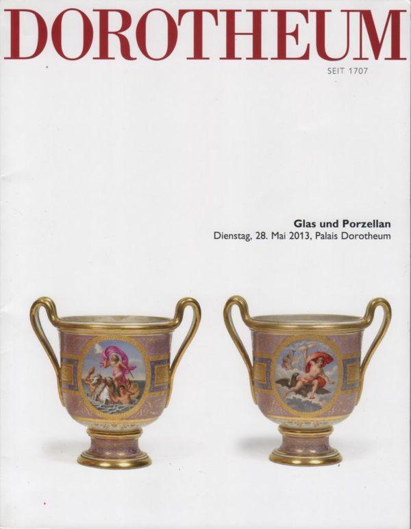 Аукционный каталог стекло и фарфор 2013 май