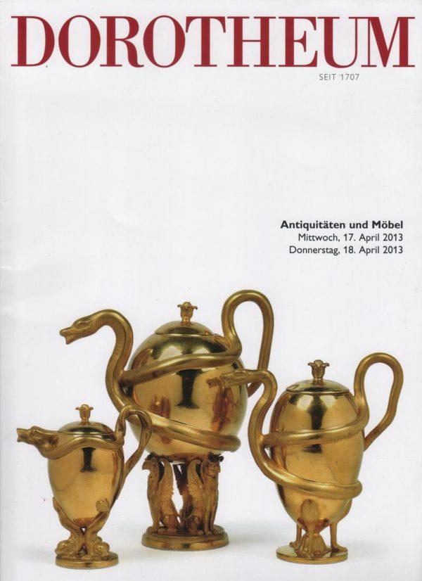 Аукционный каталог антиквариата 2013 апрель