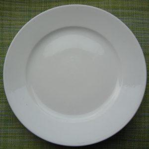 Русский старый фарфор,Вензельная тарелка