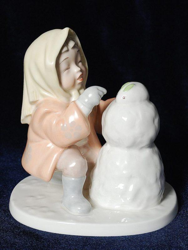Девочка и снеговик Норитаке