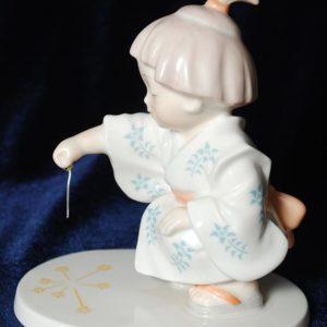 Увлечённая художница из Японии Норитаке