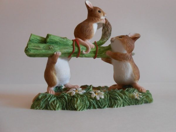 Мышки и спаржа