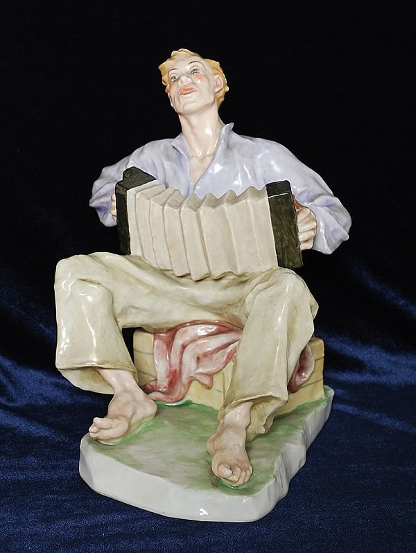 скульптура из фарфора