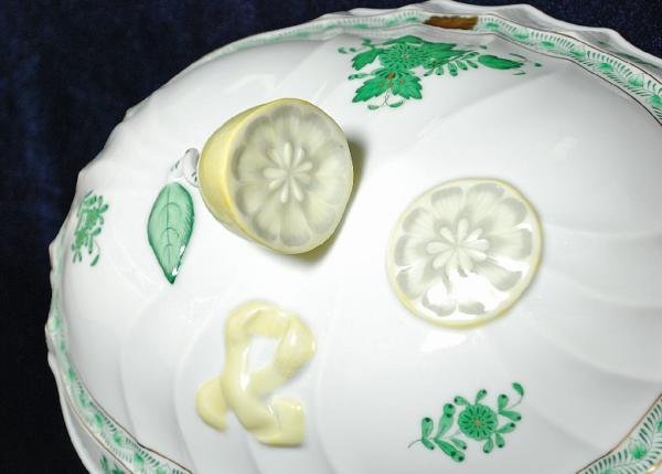 Лимонная супница от Херенд