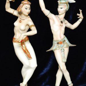 Восточные танцы Hutschenreuther фарфор