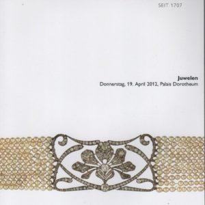 Аукционный каталог Ювелирное искусство 2012 апрель