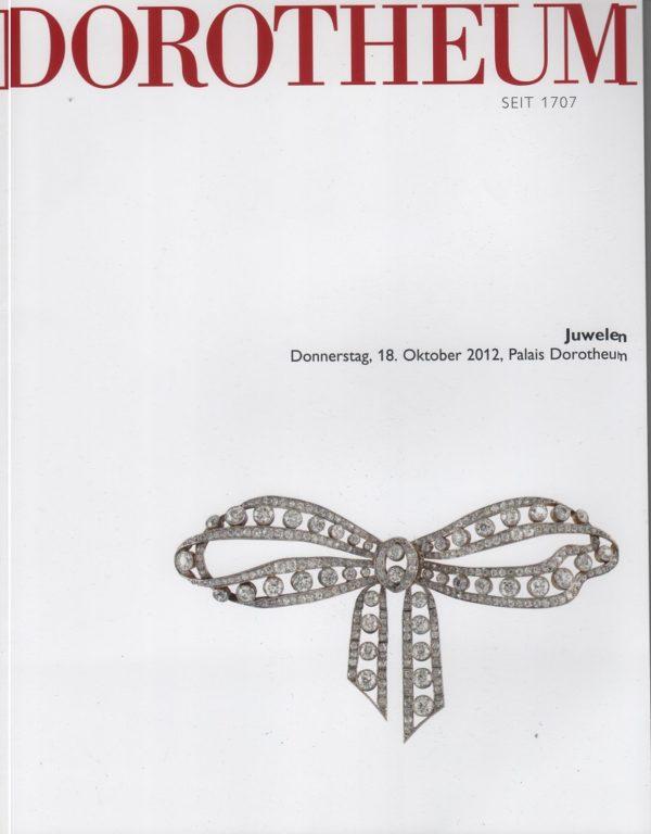 Каталог Аукционный каталог Ювелирное искусство 2012