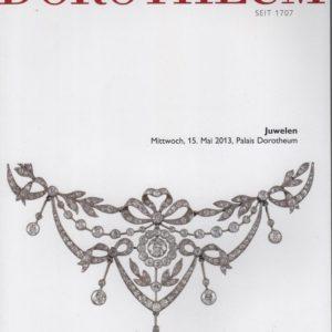 Аукционный каталог Ювелирное искусство 2013 май