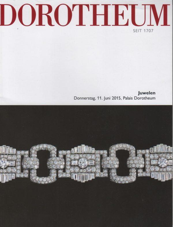 Аукционный каталог Ювелирное искусство 2015 июнь