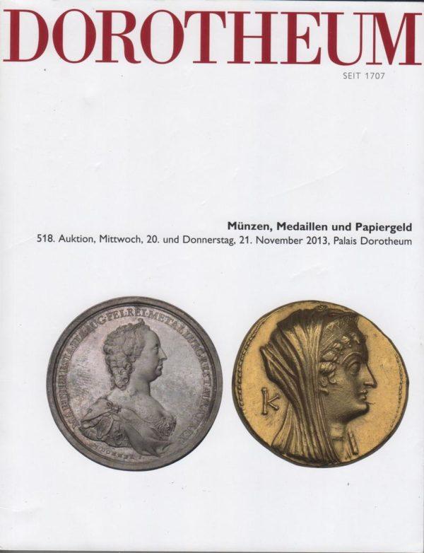 Аукционный каталог Монеты и медали 2013 ноябрь