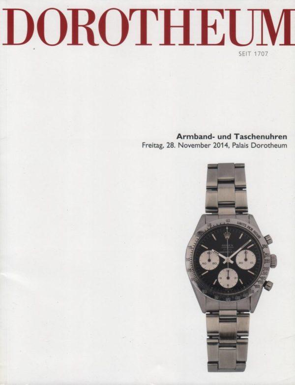 Аукционный каталог Часы ноябрь 2014