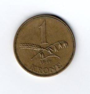 1 Крона 1947 год