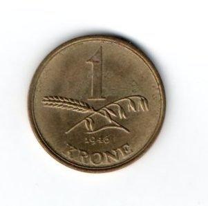 1 Крона 1945 год