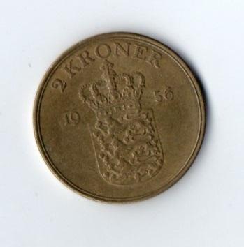 2 kroner 1956