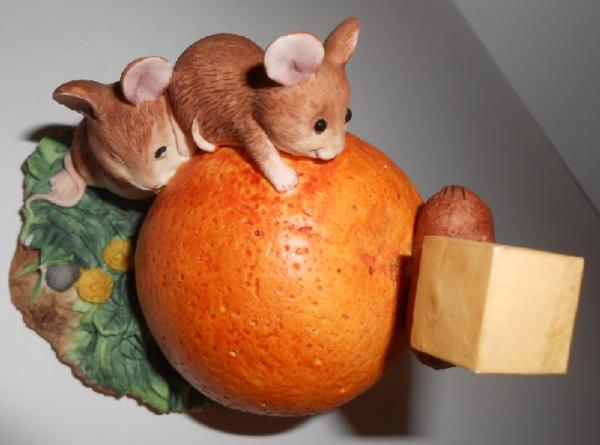 Апельсиновый и сырный рай