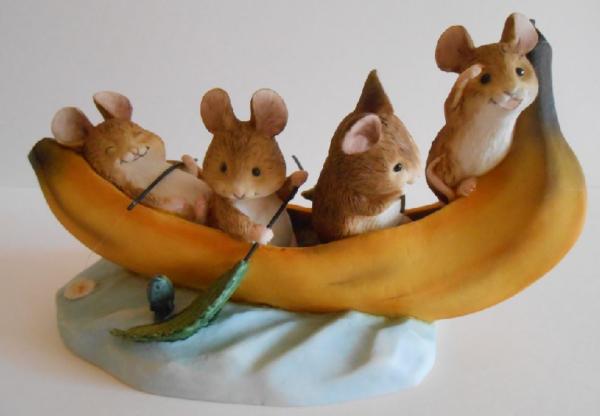 Энеско. Мышки на банане
