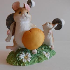 Грибная охота мышки