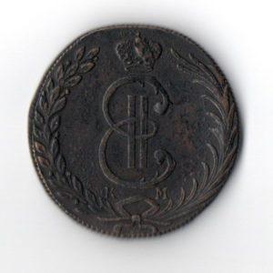 Монета 1776 год КМ Сибирь