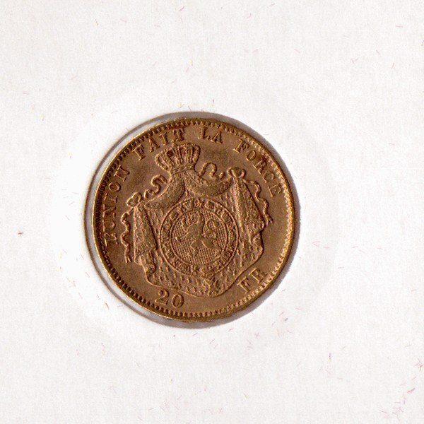 20 франков Леопольд Второй