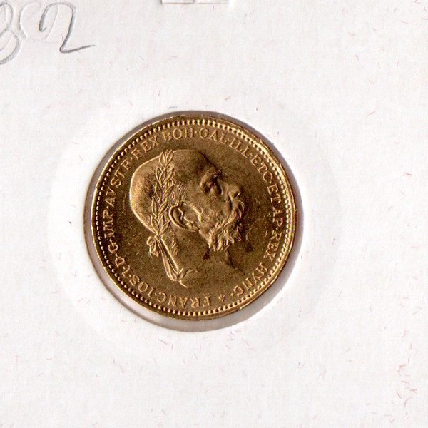 1893 год Австрия 20 Coron