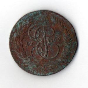 5 Копеек 1766 ММ