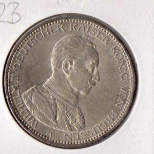 5 марок 1914 года Рейх