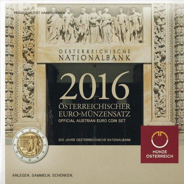 Набор монет Евро Австрии