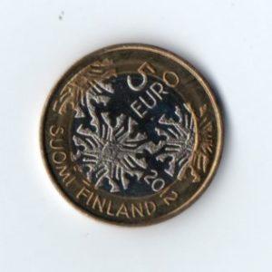 5 Евро Кувшинки Финляндия