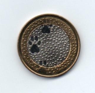 5 Евро северные мотивы Реверс