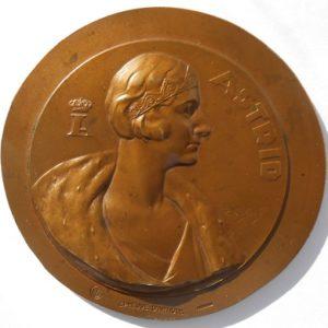 Бельгия Медаль бронза Астрид