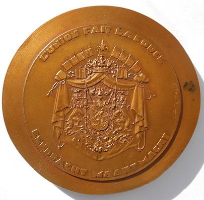 Астрид Реверс Бельгия медаль
