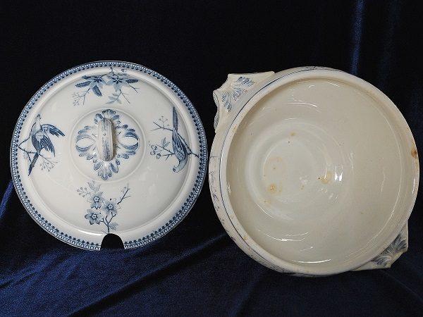 Супницы европейского фарфора Виллерой