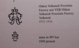 VEB Volkstedt Дама с лютней Volkstedt